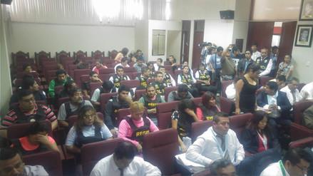 Se realiza audiencia contra 15 integrantes de 'Los Secos de Chimbote'
