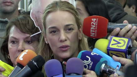Tintori negó que Leopoldo López mantenga un diálogo con el Gobierno