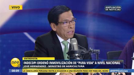 """Ministro de Agricultura: """"Hay muchos productos que tienen publicidad engañosa"""""""