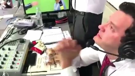 Narrador venezolano se descontroló y terminó temblando por su selección