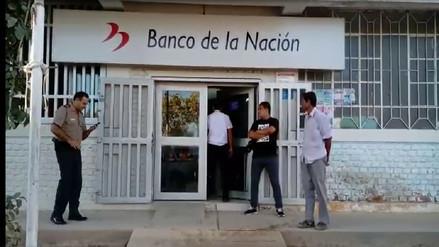 Detienen a dos sujetos implicados en asalto al Banco de la Nación