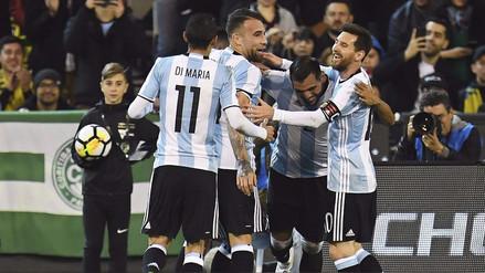 Argentina derrotó a Brasil en el debut de Jorge Sampaoli como DT