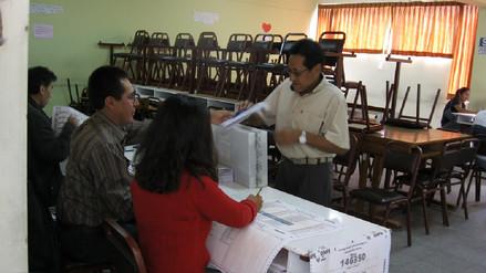 Arequipa: 5 mil 60 electores participarán en proceso de revocatoria