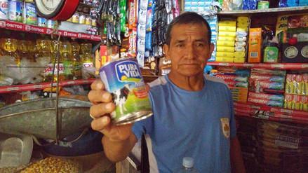 Baja la venta de producto lácteo en mercado Modelo de Chiclayo