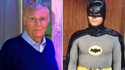 Adam West, el primer Batman, falleció a los 88 años