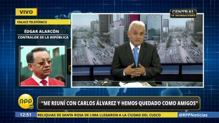 """Edgar Alarcón: """"Me reuní con Carlos Álvarez y quedamos como amigos"""""""