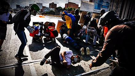 Represión en nueva jornada de protestas contra la Constituyente en Venezuela