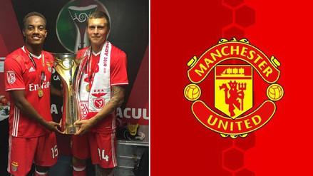 Compañero de André Carrillo en el Benfica fichó por el Manchester United