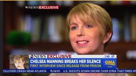 Chelsea Manning dio su primera entrevista desde que salió de prisión