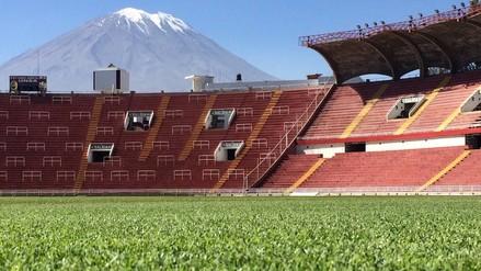 Así se encuentra el campo de la UNSA para el Perú vs. Jamaica