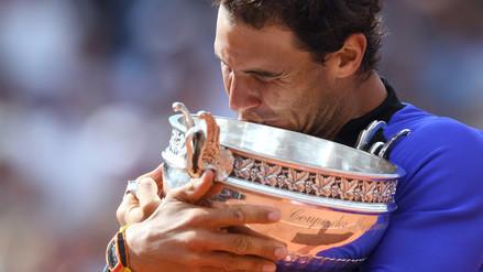 Los 10 Roland Garros que Rafael Nadal ganó hasta el momento