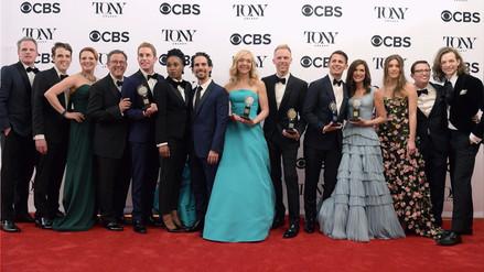 Musical 'Dear Evan Hansen' triunfa en los Premios Tony 2017