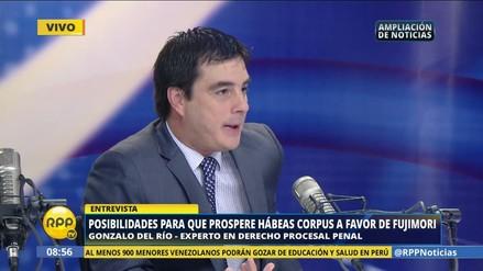"""Gonzalo Del Río sobre mensajes con juez San Martín: """"Fueron manipulados"""""""