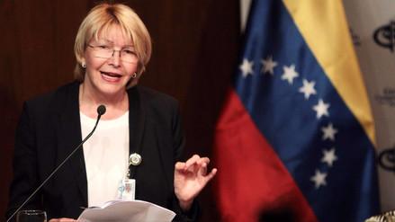 La fiscal de Venezuela responsabiliza a Maduro por