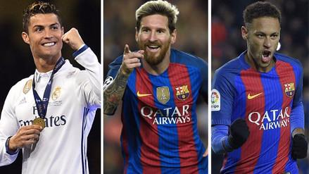 Los problemas fiscales que envuelven a Lionel Messi, Cristiano Ronaldo y Neymar
