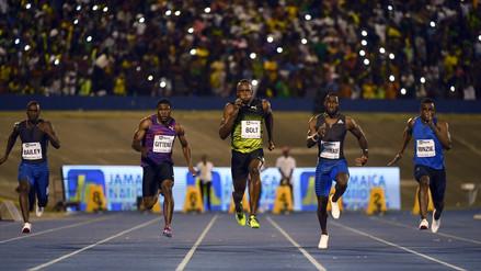 Usain Bolt corrió por última vez en Jamaica ante 30 mil personas