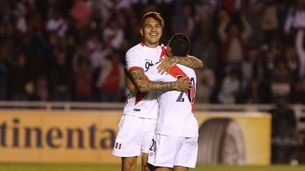La combinación entre Cueva, Guerrero y Flores para el gol de Perú