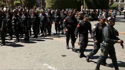 Más de 600 policías darán seguridad en partido Perú - Jamaica