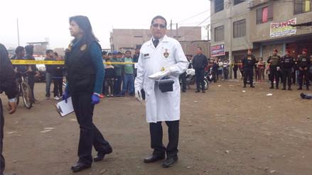 Asesinan a un expolicía de dos balazos en una calle de La Victoria