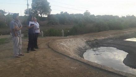 Verifican mal estado de tres pozas de oxidación en Virú