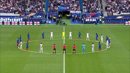 El 'Stade de France' rindió homenaje a víctimas de Londres y Manchester