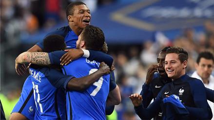 Francia derrotó 3-2 a Inglaterra en amistoso Internacional en París