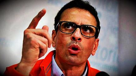Henrique Capriles denunció que uniformados disparan a matar a manifestantes