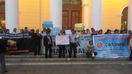Sindicatos estatales piden la eliminación del régimen CAS