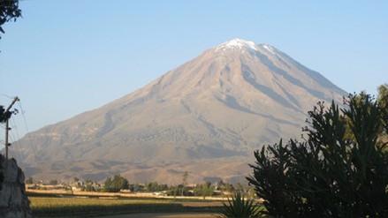 Hallan los restos de joven desaparecido en el volcán Misti