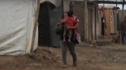 Trujillo: damnificados de Buenos Aires realizan campaña contra friaje