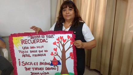 Se incrementa número de donantes voluntarios en Lambayeque