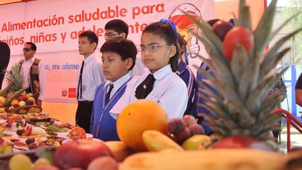 Gobierno aprobó Reglamento de Ley de Alimentación Saludable