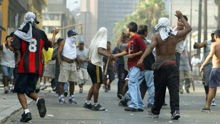 La PNP captura a barras de Alianza que atacaron a los de la U en una fiesta