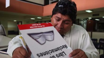 Indecopi desmintió que el Libro de Reclamaciones haya desaparecido