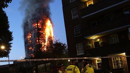 Adultos lanzaron a niños por las ventanas para salvarlos del incendio en Londres