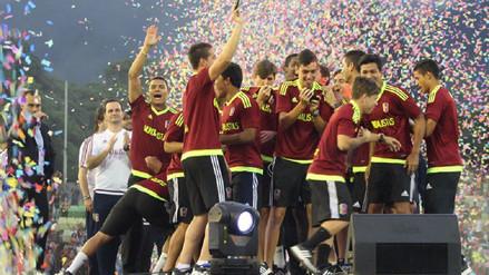 Venezuela recibió como héroes a sus jugadores de la Sub 20