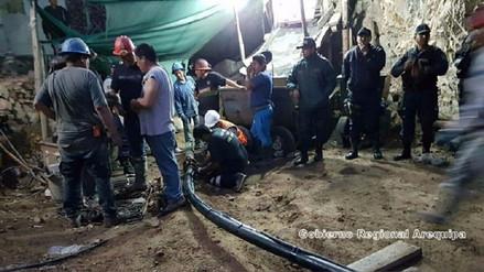 Tres mineros siguen sepultados desde hace cinco meses en Acarí - RPP