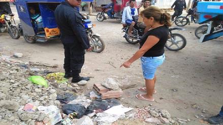 Hallan feto entre desmonte en el distrito José Leonardo Ortiz