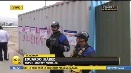 Barranco ordenó la paralización de las obras en la playa Los Yuyos