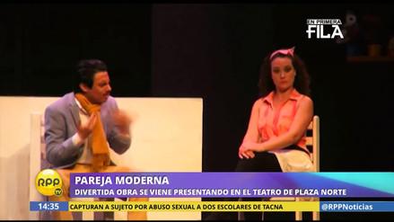 Pareja moderna: Sergio Galliani dirige divertida obra de teatro