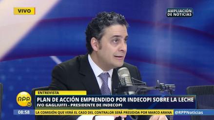 """Ivo Gagliuffi: """"Yo no soy lobista de nadie en el Indecopi"""""""