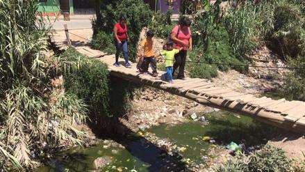 Ica: Pobladores viven rodeados de aguas servidas