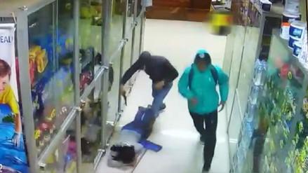 Cámaras de vigilancia registran asalto a bodega de Huacho