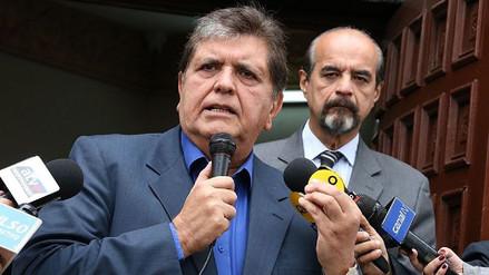 """Alan García culpa a """"la falta de Gobierno"""" del poco crecimiento económico"""