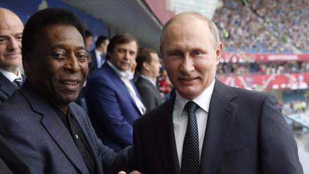 Las palabras de Vladimir Putin para dar inicio a la Copa Confederaciones