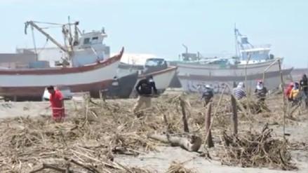 Recogen 200 toneladas de basura en playas de Lambayeque