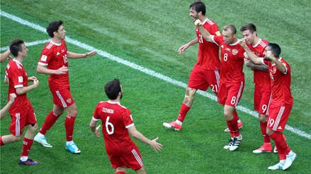 Rusia venció 2-0 a Nueva Zelanda por la Copa Confederaciones 2017