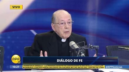 Juan Luis Cipriani dijo que el diálogo entre Gobierno y oposición fracasó