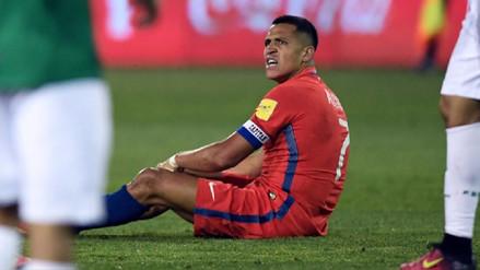 Alexis Sánchez es duda para el debut de Chile en la Copa Confederaciones