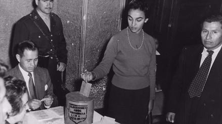 Un día como hoy hace 61 años las mujeres peruanas votaron por primera vez